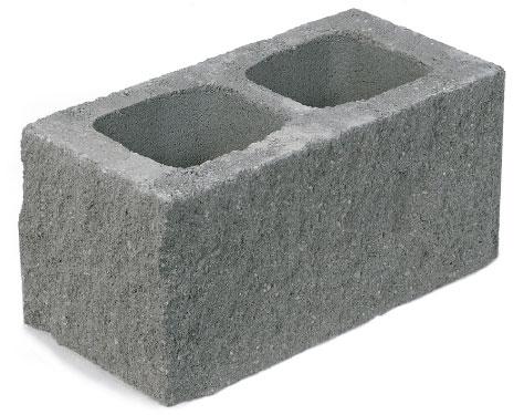 GALLIZO. Construcción. Cerramiento. bloque-split dos-caras