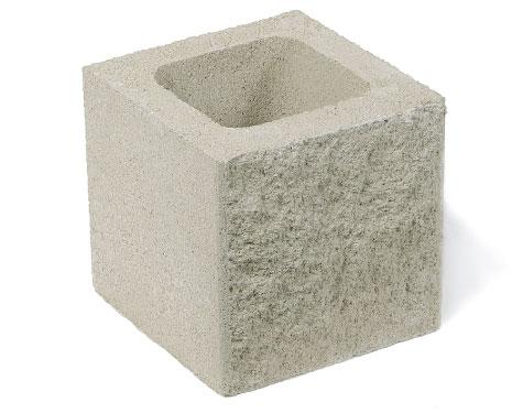 GALLIZO. Construcción. Cerramiento. medio-bloque-split