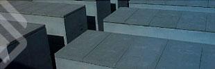 GALLIZO. Construcción. Prefabricados funerarios. Fosas. Botón