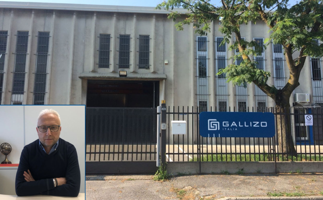 Gallizo. Fabricación contrapesos industriales. Nueva fábrica en Monza, Milán.